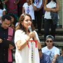 Cinco Embajadoras y ONU-Mujer inauguran biblioteca en San Marcos Tlapazola